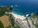 PORTREATH BAY AND HARBOUR LOOKING STUNNING
