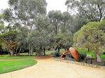Sculpture The Pilgrim - Centennial Park