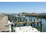 Community Pier, great for fishing/crabbing or launching a kayak