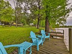 Your lakefront escape begins at this Goodrich vacation rental house!