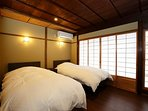 1F: Western style bed room for 2 people
