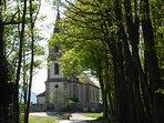 l'église du village de st pierre bois