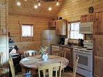 Open kitchen, dinning