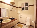 Attach bath to the fourth bedroom with free amenities