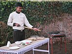 If you're in the mood for a BBQ, have the chef prepare authentic 'Tandoor' snacks for you