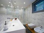 Bathroom 4 full bathroom with double shower door plus a bath tub