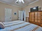 1st Floor - King Bedroom w/ TV