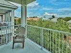 3rd Floor - Balcony w/ Lounge Chairs