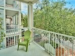 2nd Floor - Balcony w/ Lounge Chairs