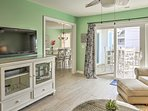 'Bella's Haven' offers 2,901 square feet of inviting, beachy living space.