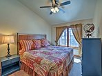 Choose from the 3 bedrooms to sleep in during your stay.