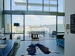 Spectacular views from the living area to the Waitakere ranges