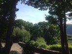 Garden views.