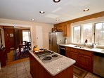 Full kitchen with plenty of amenities