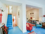 Bright and open plan downstairs.