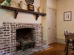 You are in the original kitchen house of the property with original fireplaces dating back to 1820.