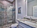 all 7.5 bathrooms beautiful tilework, granite or quartz