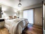 Master Bedroom with balcony and half bath