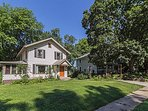 Relax in this comfortable home in a quiet neighborhood close to downtown.