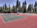 Agate Bay Tennis Courts (summer only)