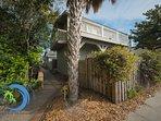 Sidewalk to The Bonefish Beach House