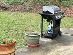 four burner grill