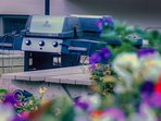 In the warmer months, make use of the communal outdoor BBQ area!
