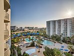 You'll have views of the resort and the Gulf of Mexico!