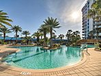 Choose from several pools to cool off in!