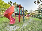 The kids will love playing on the playground!