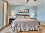 Laketown Wharf 1520-Master Bedroom with King Bed