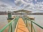 Park your boat, fish, and swim at the private dock.