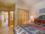 Cozy queen bedroom with ensuite bath