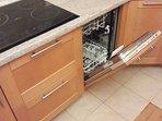 Dishwasher, electric stove