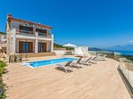 2 bedroom Villa in Koroni, Ionian Islands, Greece : ref 5426724