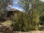 The Olive Hut for table-tennis and games – a few metres from the house
