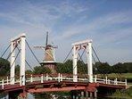 The Bridge at Windmill Island