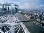 Don't miss to visit London Eye