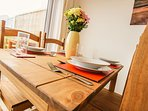 Dining table - seats 4