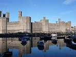 Caernarfon Castle in all it's glory