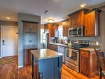 Prepare the group's favorites in the fully equipped kitchen.