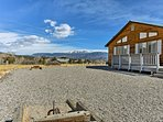 Play a game of horseshoes in the High Country sunshine.