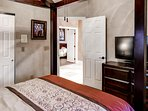 This room is called 'Trevino' after golfer Lee Trevino!