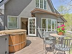 Newly finished, this vacation rental boasts all new furnishings and features.