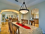 Share home-cooked feasts in the formal dining room.