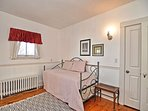 Bedroom 3: Second floor twin bedroom with trundle.
