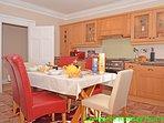 Generous sized kitchen