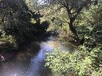 Enjoy lovely walks along our river