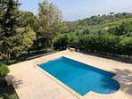Villa Vaniana has its own private pool 10m x5m deep end 2.4m shallow end 1m