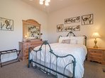The 3rd level Guest Queen Bedroom has plenty of extra storage... so stay as long as you like